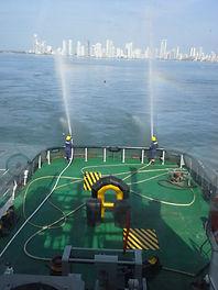 atraque y desatraque en puerto