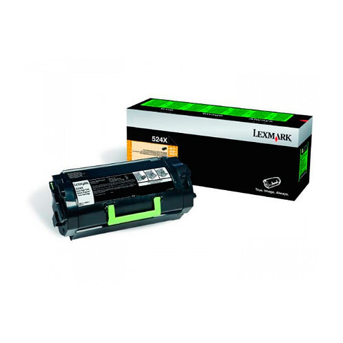 Toner Lexmark 52DBX00 524X   Preto
