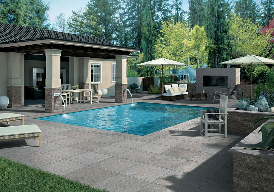 Pool swimmingpool schwimmbad fliesen for Garten pool erfahrungen