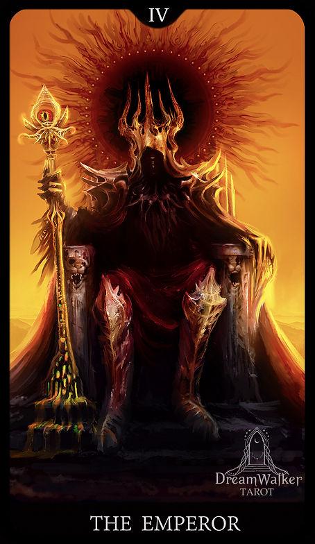 emperor dreamwalker tarot card noctique.
