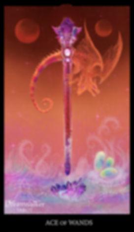 Ace of wands dreamwalker tarot card noct