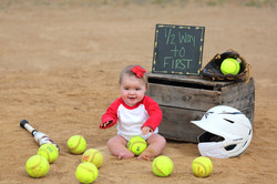 Baby Softball Pictures