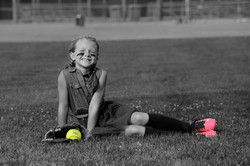 Girl Softball Picture