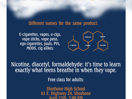 Millions of middle and high school students are now vaping. Are your kids? It's time to have the vap