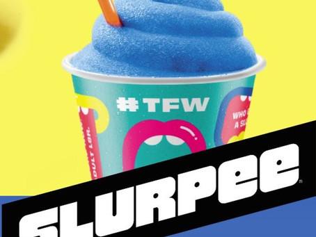 Free Slurpee for 7/11 day