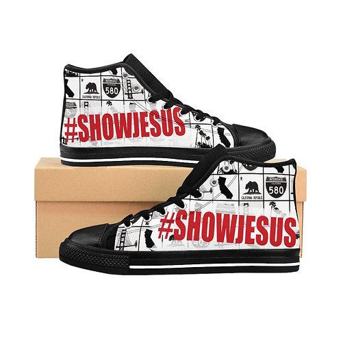 Men's #SHOWJESUS High-top Sneakers