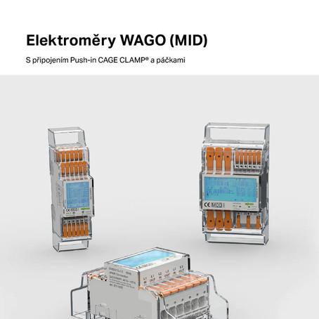 Novinky ze světa WAGO - elektroměry