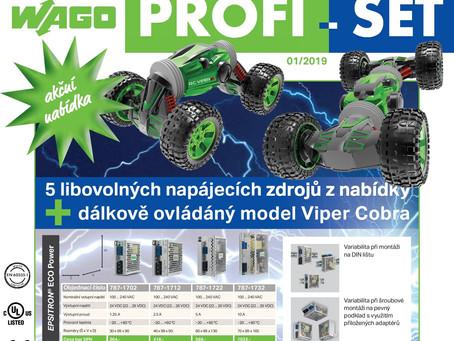 Jarní WAGO akce PROFI-SET