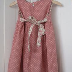 Dusty pink rose dress