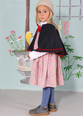The Rose Dress and Madeleine Cape
