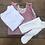 Thumbnail: Ribbed cotton Lycra tights