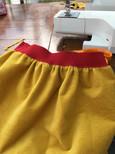 Little mustard yellow skirt