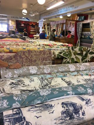 Fabric shopping!