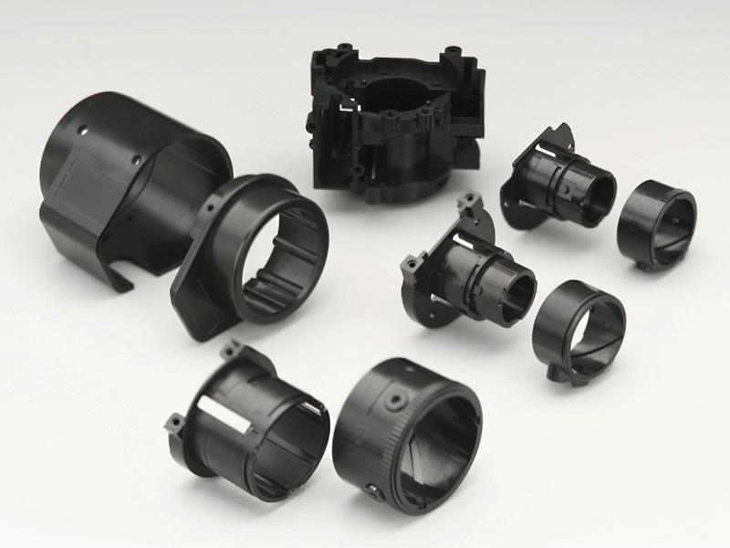 監視カメラ用鏡筒部品