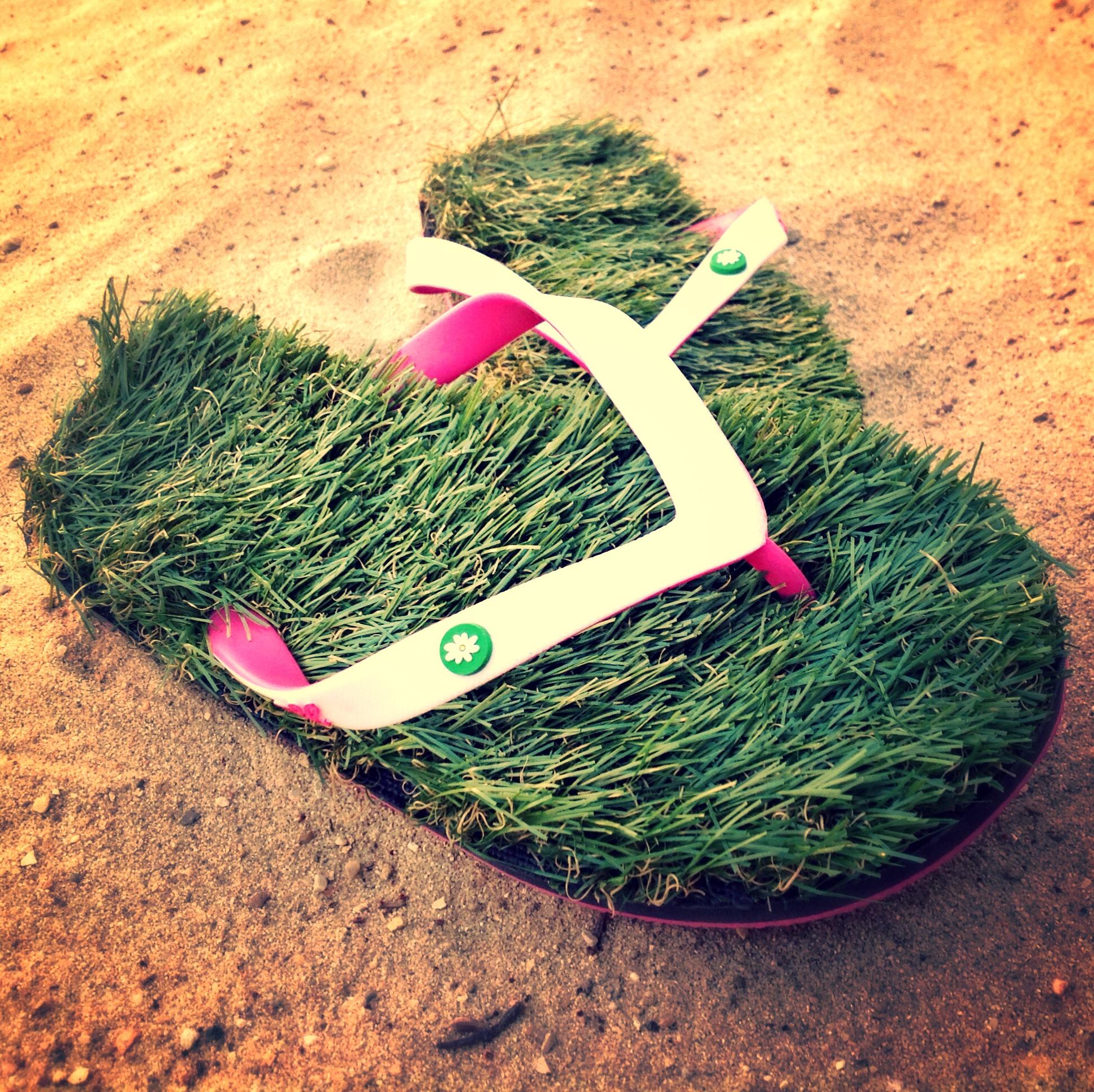 4e128f3dbdefc1 Grass Flip Flops