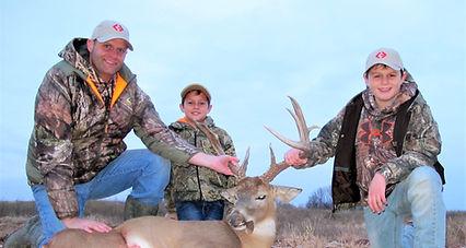 Oklahoma Representative Josh West with an Oklahoma Whitetail Deer