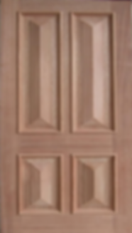 Hampton four panl door