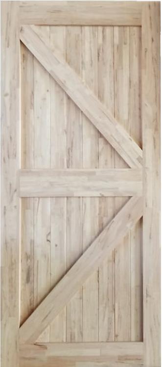 British Brace Hardwood Barn Door