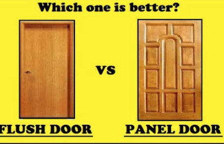 Versatility of a flush core door