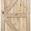 Thumbnail: British Brace Pine Barn Door