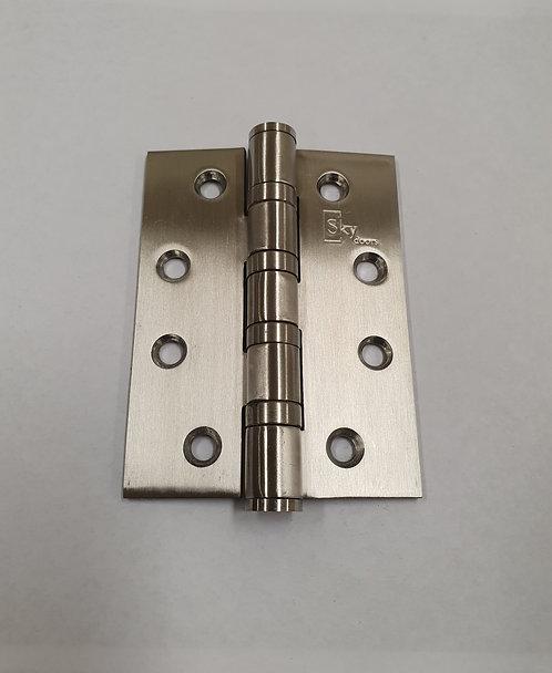 Butt Hinge 100mm Satin Stainless Steel [Pack of 2]