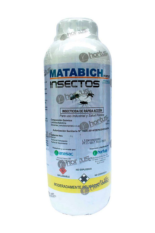 MATABICH INSECTOS