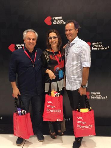 Ricardo, Rosely e Roberto