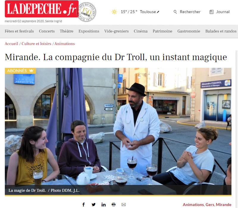 [PRESSE] Dr Troll consulte...