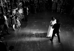 First dance as a married couple at Blackwell Grange
