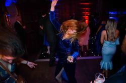 Wild dancing at Yarnton Manor