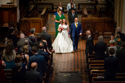 Walking down the aisle at Reading Minster