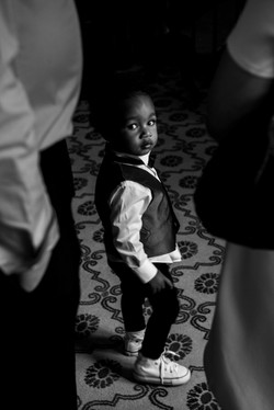 Portrait of the pageboy