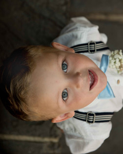 A portrait of the pageboy at The Bay Tree Hotel