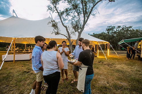Cofamily-party-under-sperry-tents-southe