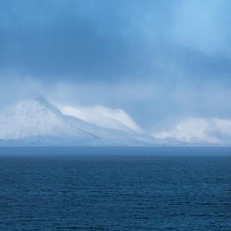 Vinter Lofotsväggen