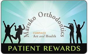 patient rewards hub, patient rewards, maruko orthodontics