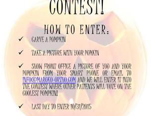 2015 Pumpkin Carving Contest!