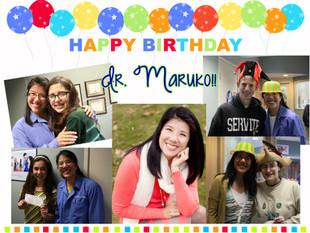 Happy Birthday to Dr. Maruko!!