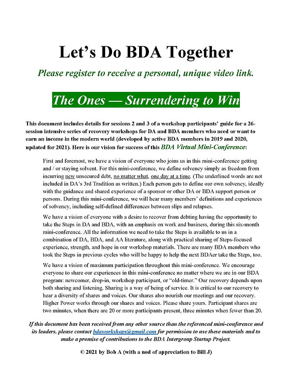 2020_12_30 - Lets Do BDA Together -  1s