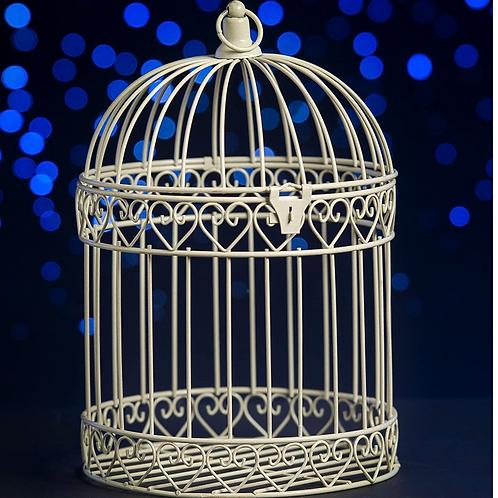 Decorative Bird Cage Lantern Centerpiece