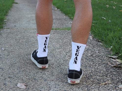Vegan Crew Socks - 3 pack