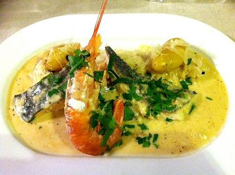 Choucroute de la mer, restaurant Chez Margot Capbreton
