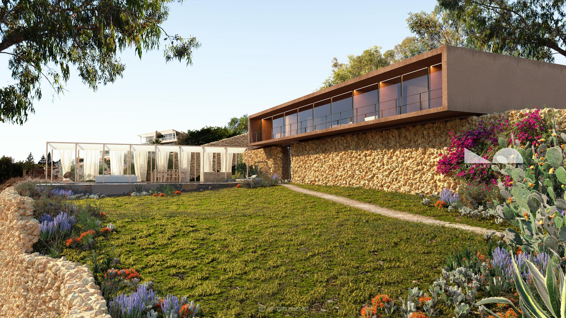 House on a Ridge, Fully-detached Villa