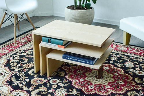 Three Tier Modern Coffee Table