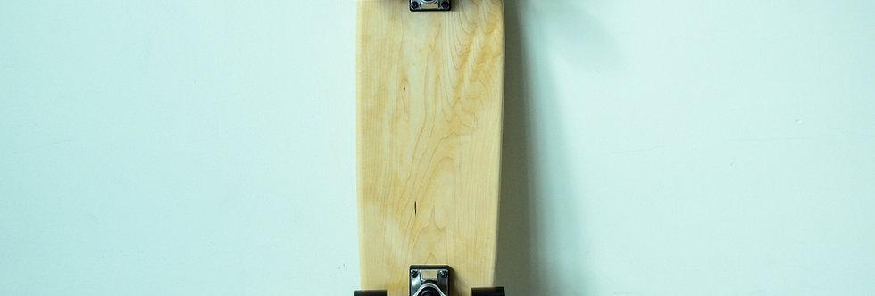 Two Tone Maple & Walnut Cruiser Skateboard