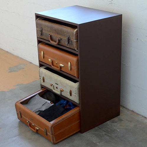 Unique Suitcase Dresser
