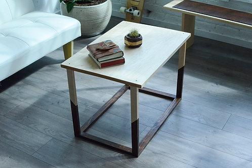 Modern Angle Frame Hardwood Coffee Table