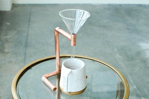 Minimalist Copper Drip Coffee
