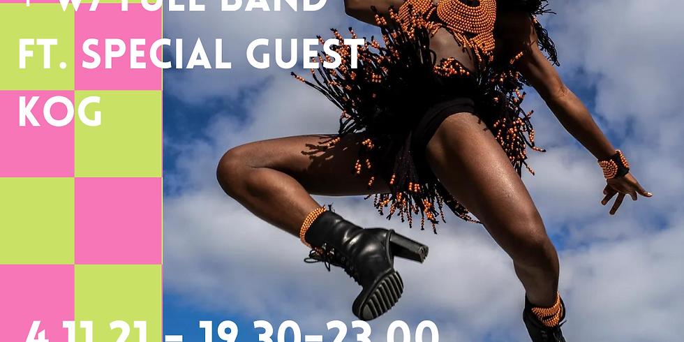 DINA presents: WIYAALA w/ full band ft. special guest KOG