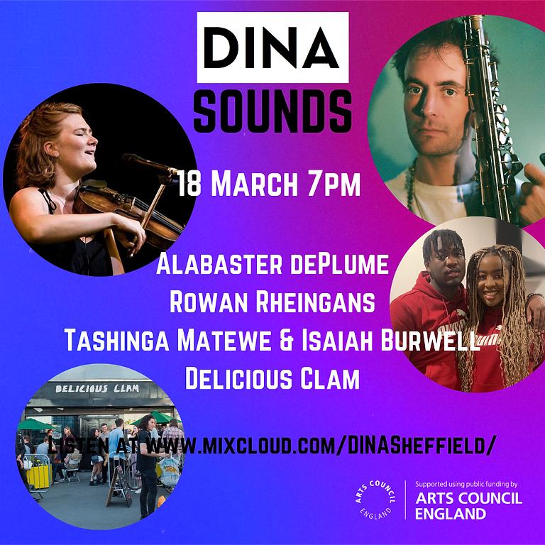 DINA Sounds! 18 March